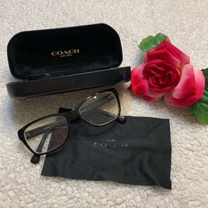 Coach Eye Glasses Frames & Hard Case
